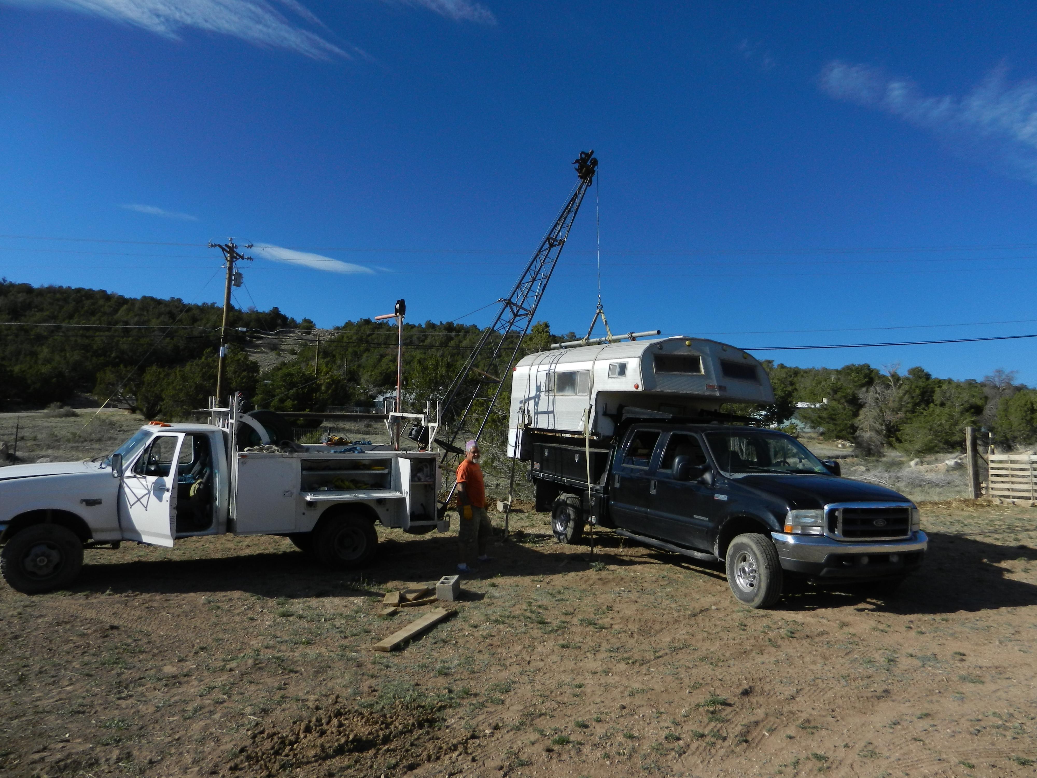 Truck Rack Modify
