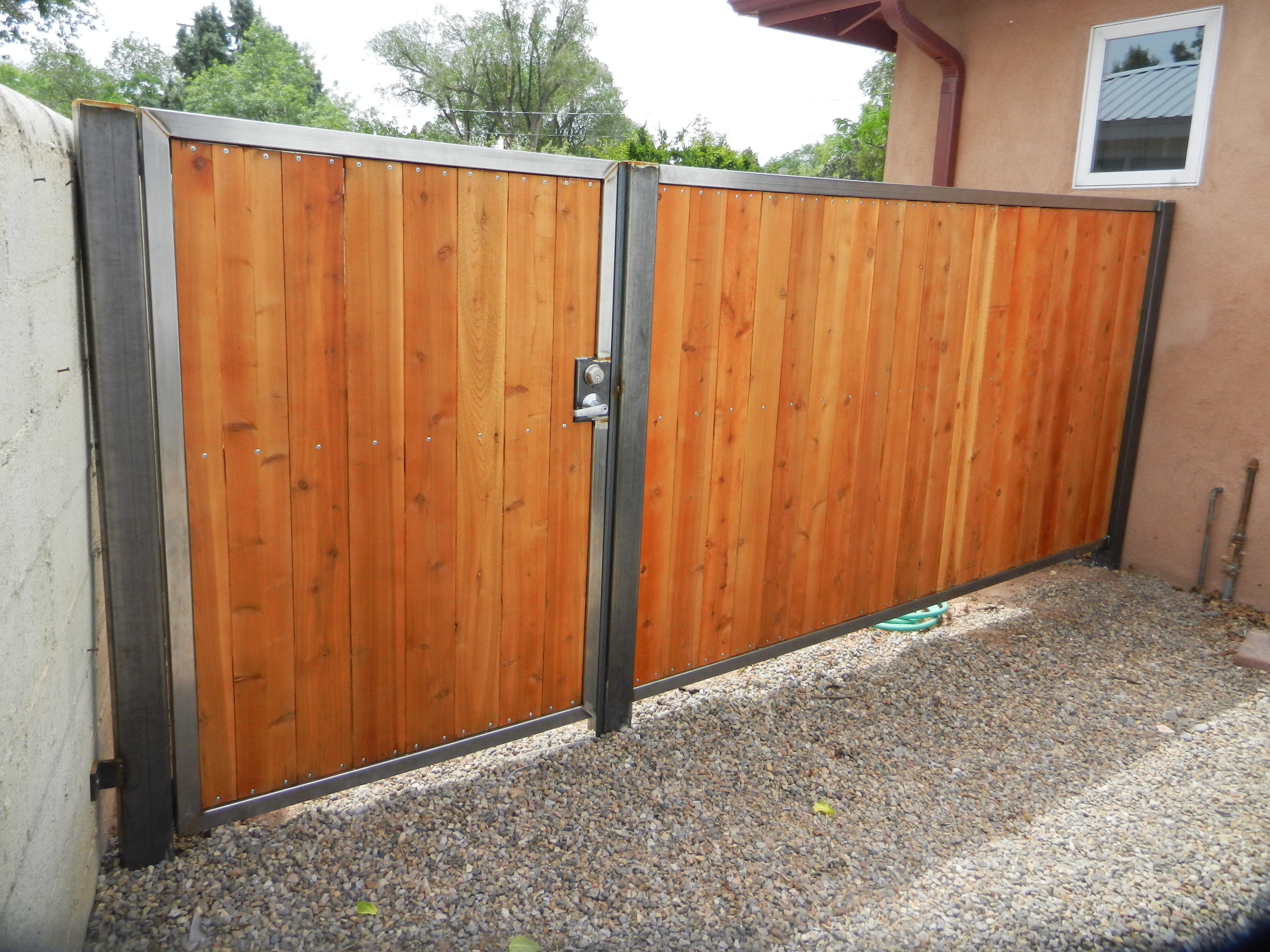 New Side Gates   O'C Metal Solutions